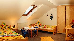Kinderzimmer der Ferienwohnung Waldblick