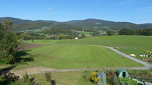 Landschaft rund um den Ederhof