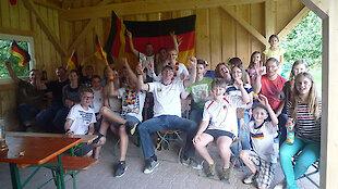 WM 2014 Deutschlandfans