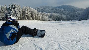 Winter dem Ederhof im Bayerischen Wald