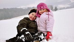 Kinder auf dem Ederhof in Schöllnach