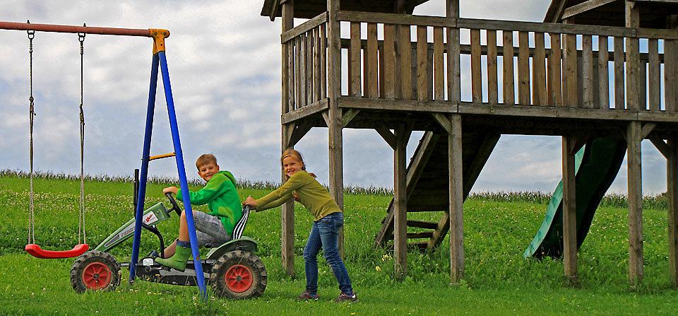 Spannender Familienurlaub auf dem Ederhof