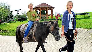 Pony reiten im Bayerischen Wald