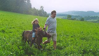 Geführtes Ponyreiten auf dem Ederhof im Bayerischen Wald