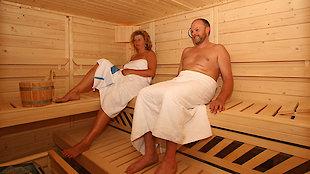 entspannender Saunagang